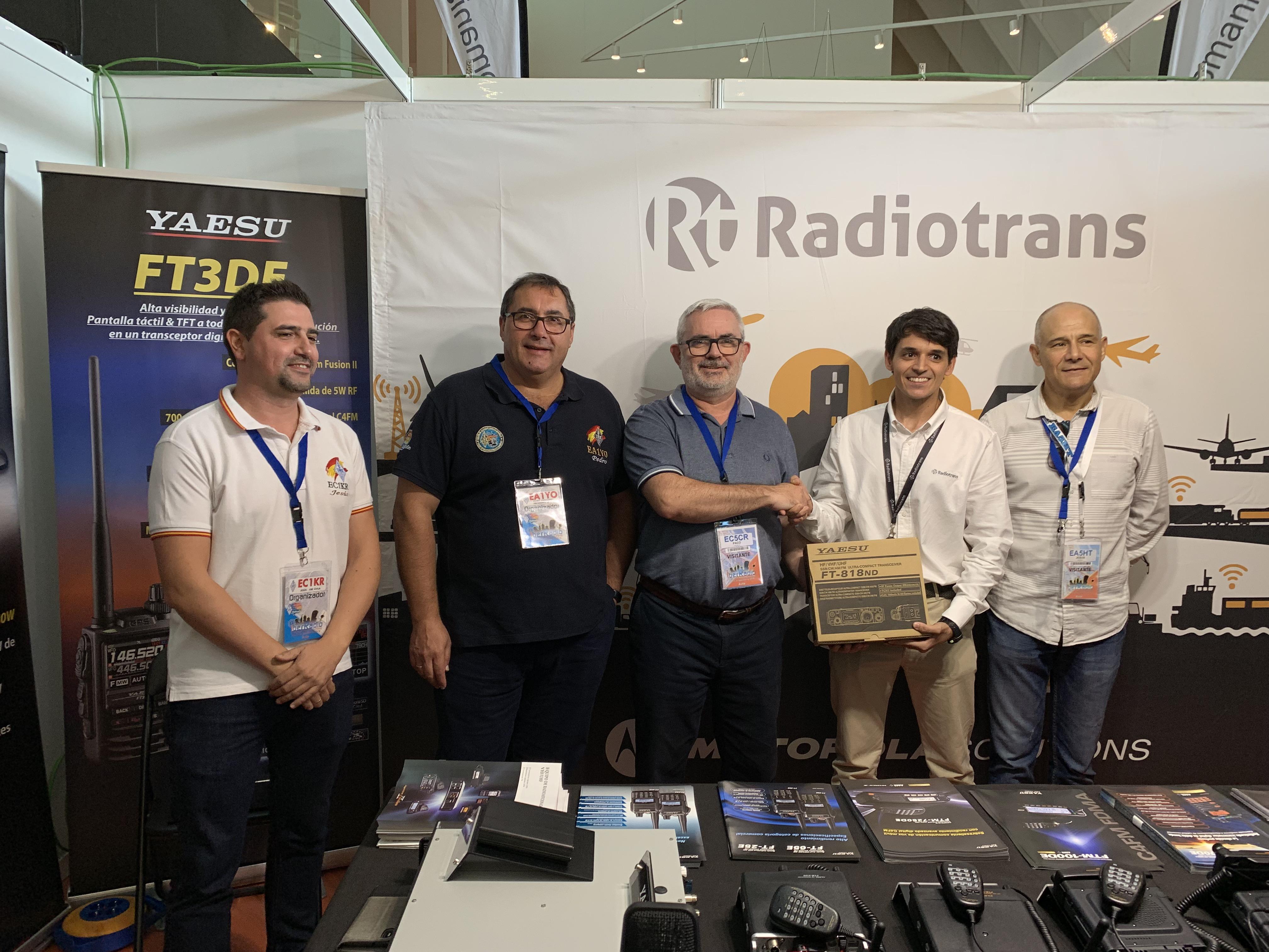 IberRadio 2019. La V Feria de las Radiocomunicaciones reúne en Ávila a 2.500 radioaficionados de toda España.