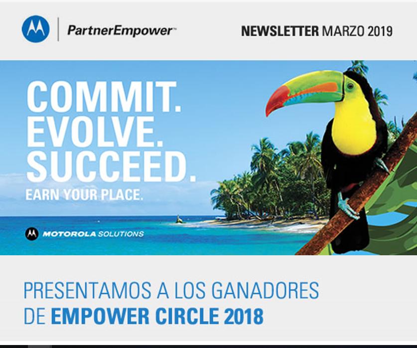 Radiotrans premiada por Motorola Solutions, Programa Empower Circle, por ser uno de los distribuidores con mayor
