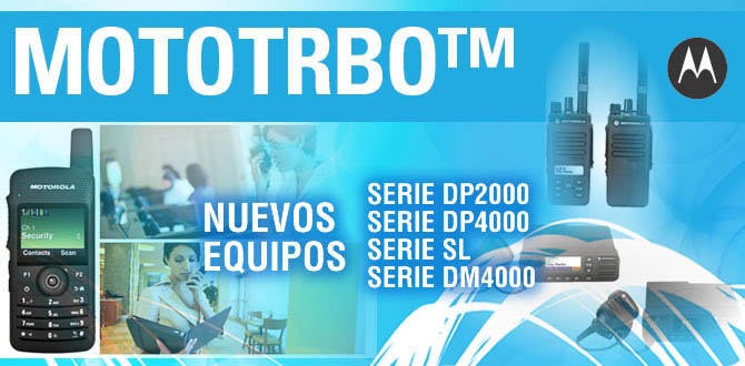New equipment MOTOTRBO™