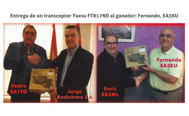 Radiotrans patrocinador del Campeonato de Radioafición nacional,  anual de HF