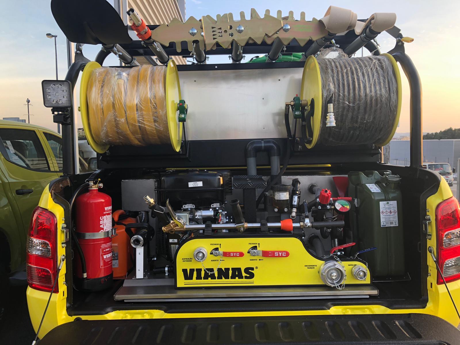 Radiotrans, proveedor de equipos de radiocomunicaciones para los vehículos de los agentes forestales de Portugal