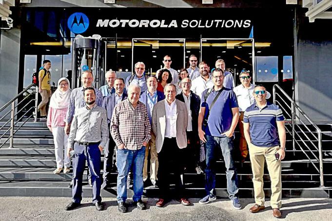 Viaje de los Ganadores del Plan de Incentivo 2019 a las instalaciones de Motorola en Penang, Malasia