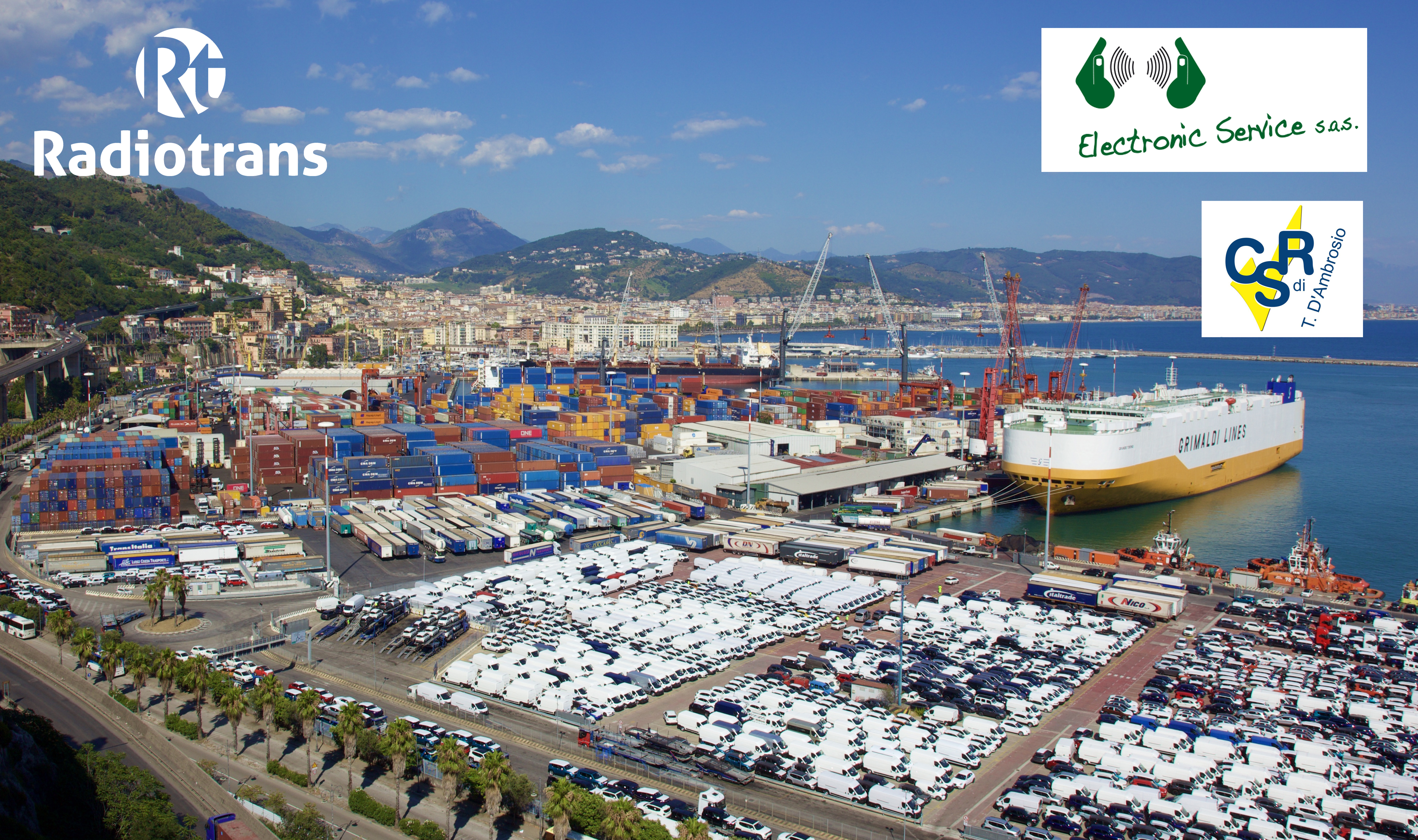 Radiotrans suministra equipamiento de radiocomunicaciones a SCT en el astillero de Salerno, Italia