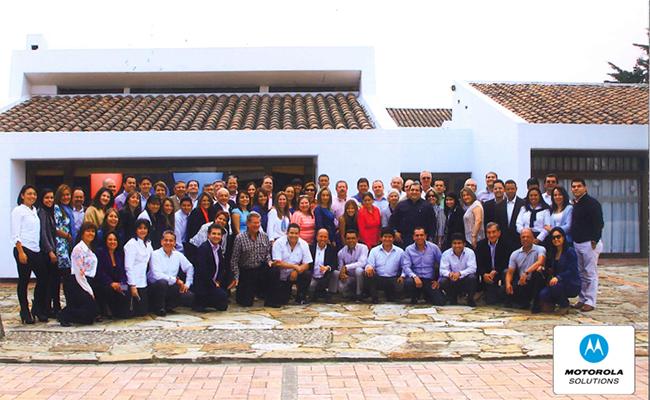 Conferencia Motorola Canal Distribución Radio en Colombia