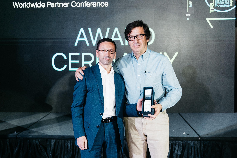 Premio al mejor proyecto de los 10 años de existencia de Smart PTT
