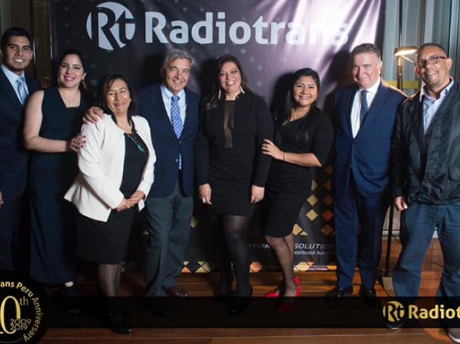 Radiotrans Perú celebra su 10º Aniversario.