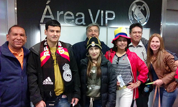 Champions Club Colombia en Madrid