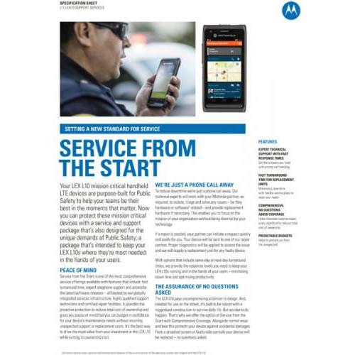 Service from Start -  LEX L10
