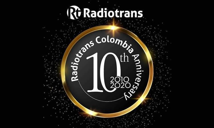 Radiotrans Colombia 10º Aniversario