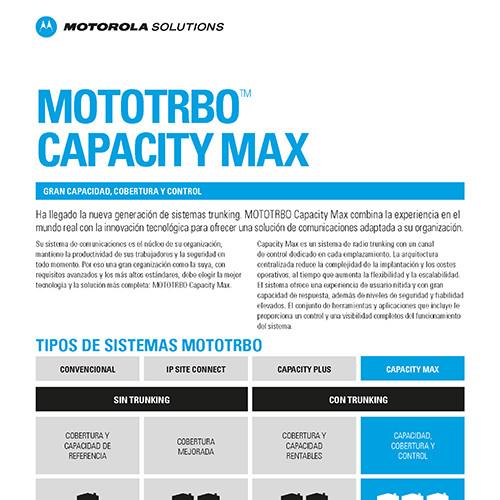 MOTOTRBO Capacity Max