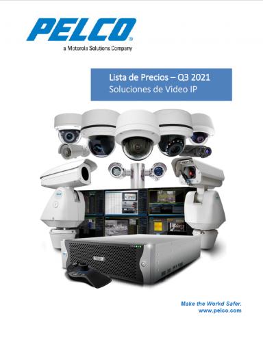 Catálogo General CCTV - Pelco